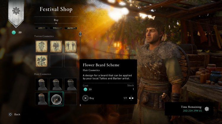 Image showing the Ostara Festival Items in AC Valhalla.