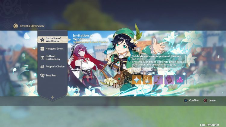 Image showing How to Start the Windblume Festival in Genshin Impact.