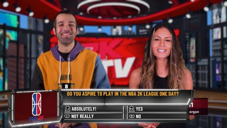 Image showing an NBA 2K21 2KTV Episode 30 Question.