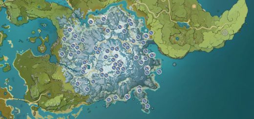 Featured image on Genshin Impact: Where to Find Silverstar Ore guide.