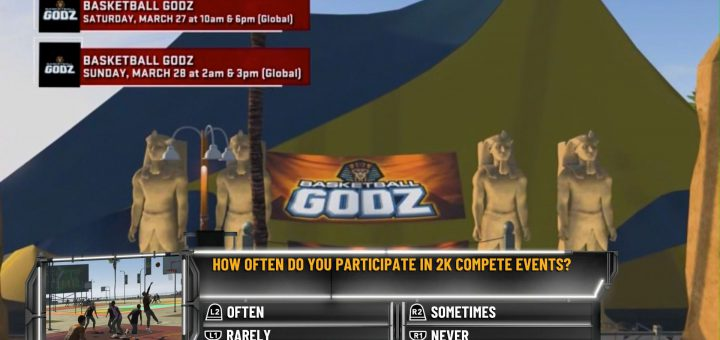 Featured image on NBA 2K21 2KTV Episode 31 Question guide.