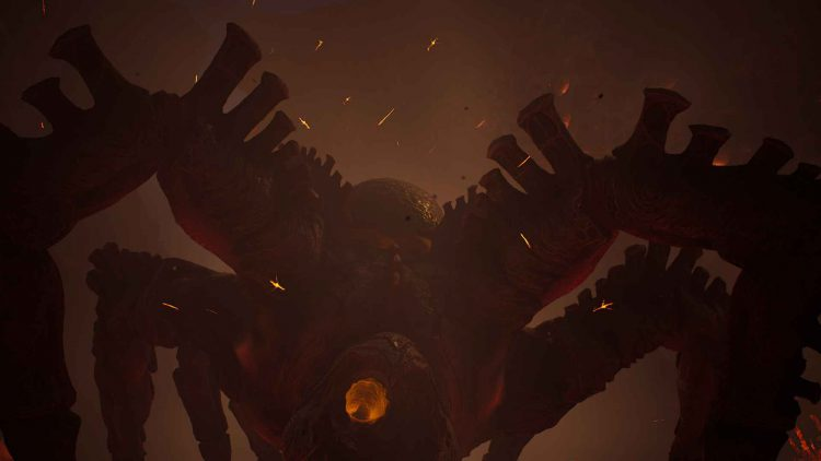 Image showing the Molten Acari boss in Outriders.