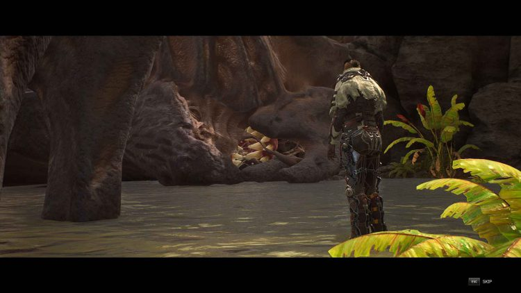 Image showing the Chrysaloid boss in Outriders.