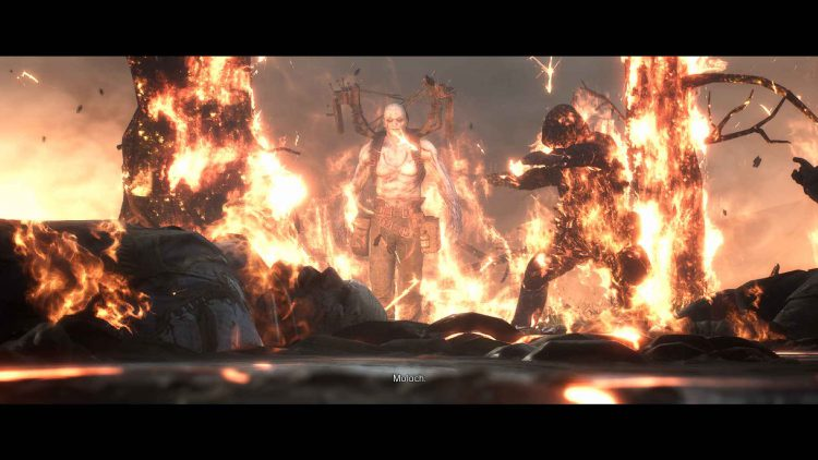 Image showing the Moloch boss in Outriders.