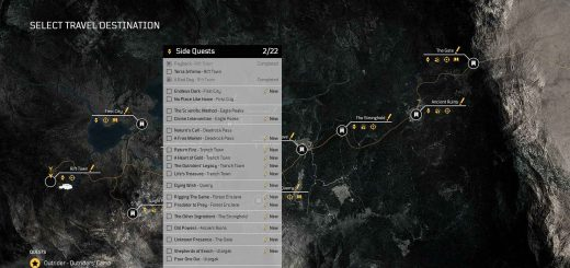 Featured image on Outriders Side Quests List.