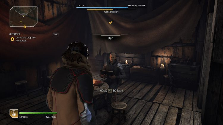 Image showing Where to Turn in Wanted Bounties in Outriders.