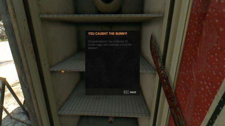 Image showing a Dying Light Egg Hunt reward.