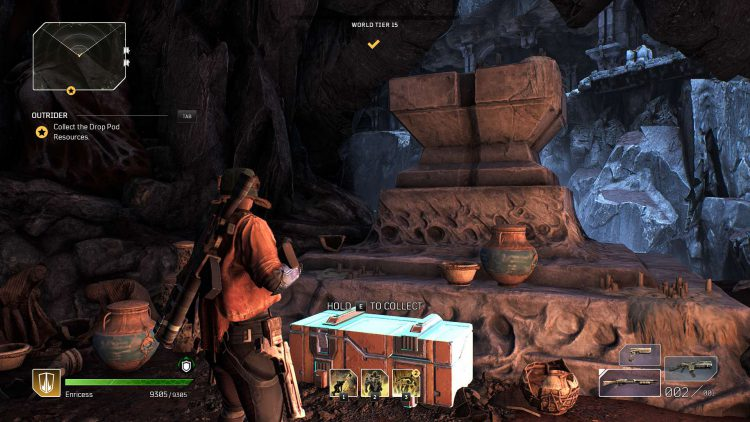 Forgotten Chapel side mission guide for Outriders featured image.
