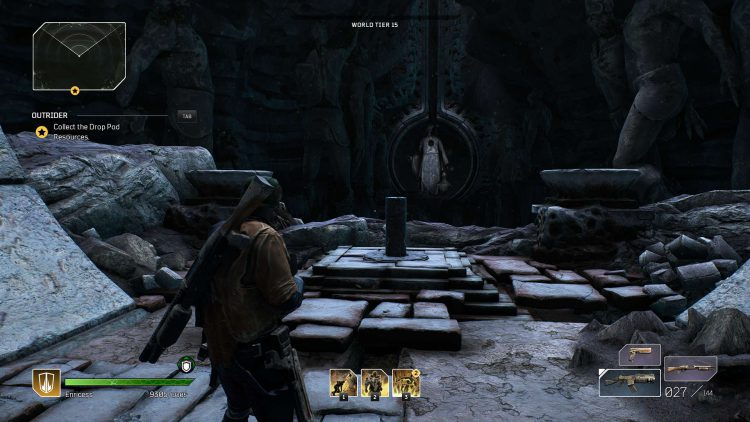 Image showing The Monolith Keystone location in Outriders.