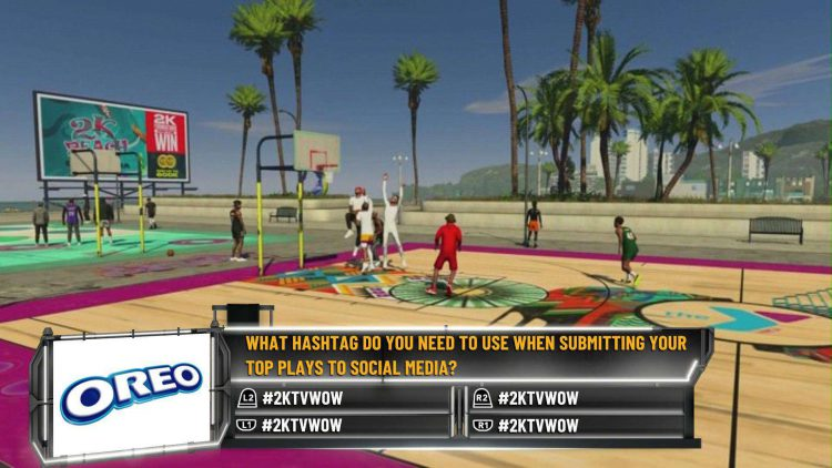 Image showing an NBA 2K21 2KTV Episode 34 auestion.