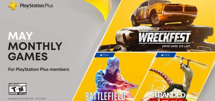 Featured image on PlayStation Plus May 2021 Games news article.