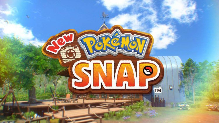 Image showing the New Pokemon Snap main title screen.