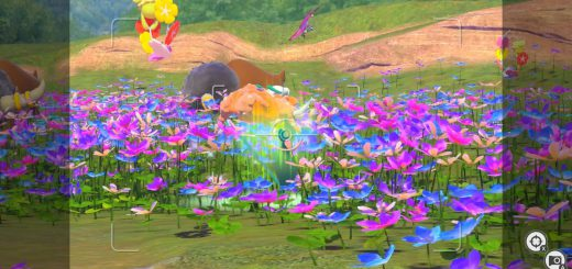 Featured image on New Pokemon Snap Livening Up the Flowers Guide.