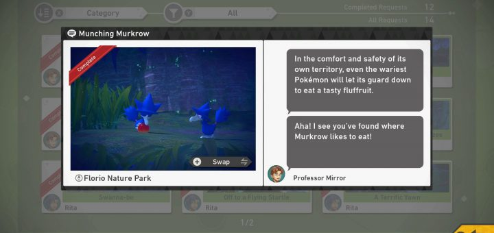 Featured image on Munching Murkrow Guide for New Pokemon Snap.