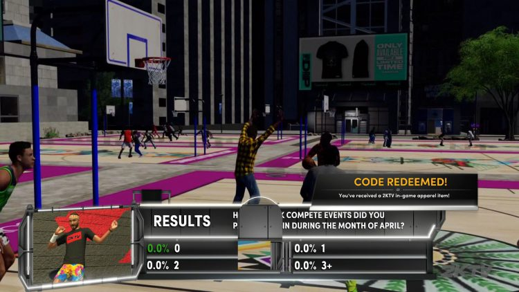 Image showing a NBA 2K21 2KTV Episode 36 Question.