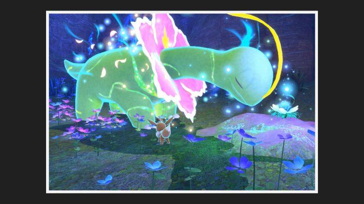 Image showing Meganium in New Pokemon Snap.