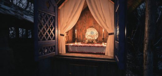 Featured image on Resident Evil Village Maiden and Demon Crest Locations guide.