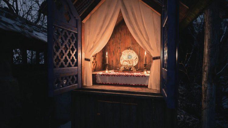 Image showing the Demon Crest in Resident Evil Village.