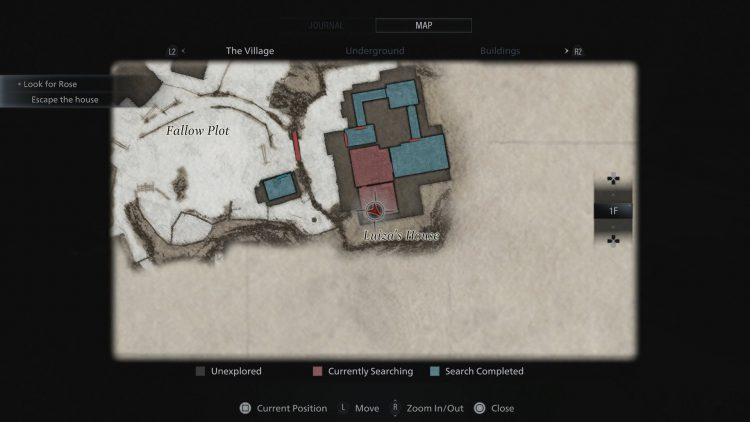 Image showing where to find the Truck Keys in Resident Evil Village