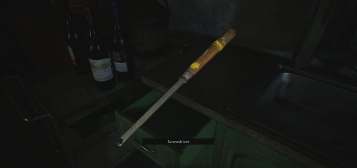 Featured image on Resident Evil Village Screwdriver Location guide.