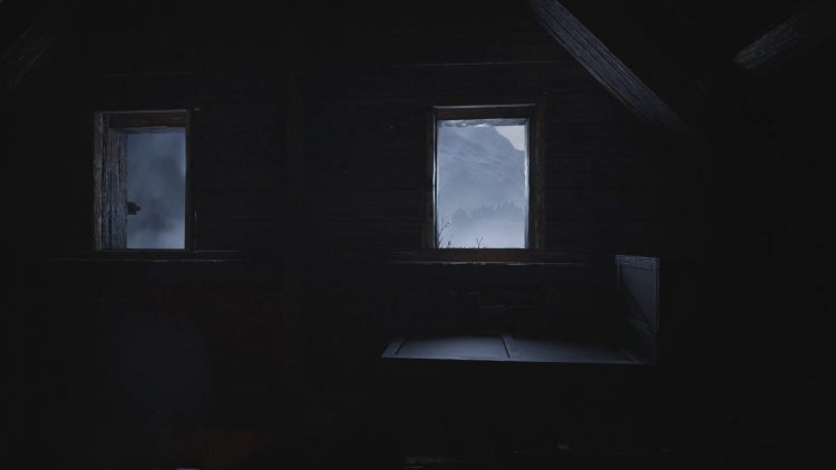 Image showing the attic window in Resident Evil Village