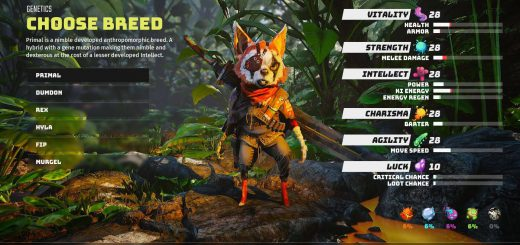 Featured image on Biomutant Breeds explanation post.