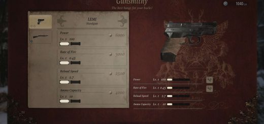 Featured image on How to Upgrade Weapons in Resident Evil Village guide.