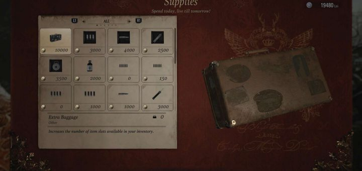Featured image on How to Carry More Stuff in Resident Evil Village guide.
