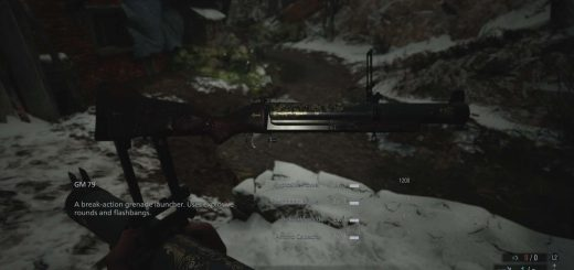 Featured image on Where to Find the Grenade Launcher in Resident Evil Village guide.