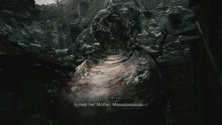 Image showing the Moreau boss in Resident Evil Village.