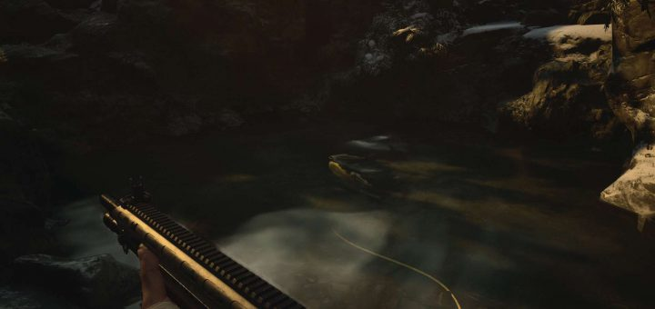 Featured image on Where to Find the Finest Fish in Resident Evil Village guide.