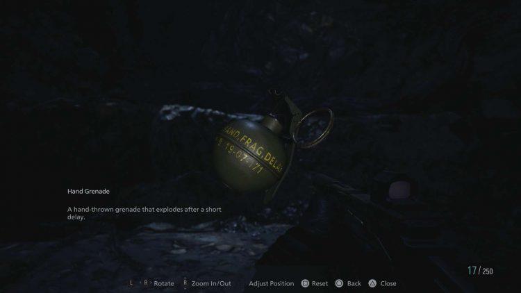 Image showing Hand Grenades in Resident Evil Village.