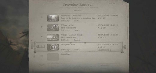 Featured image on Resident Evil Village How to Start NG+ guide.