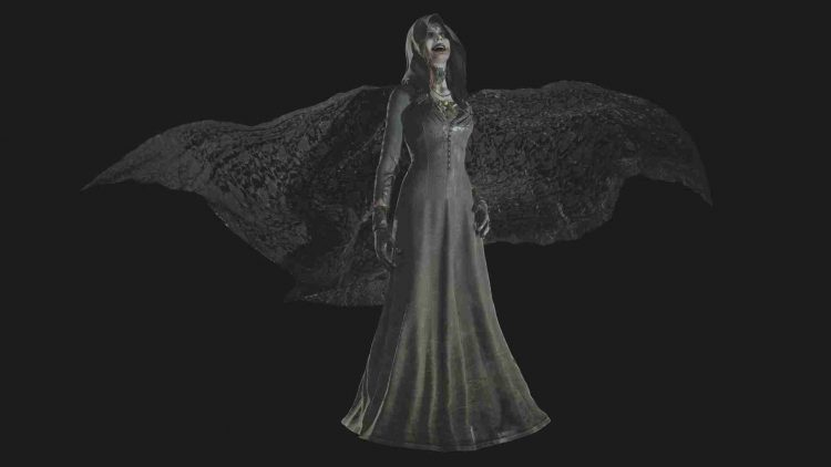 Image showing Daniela Dimitrescu in Resident Evil Village.