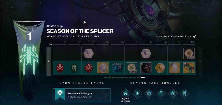 Featured image on Destiny 2 Season of the Splicer Season Pass Unlocks list.