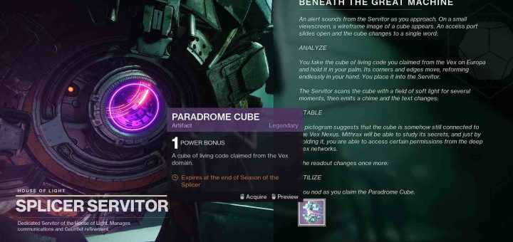 Featured image on Destiny 2 Beneath the Great Machine guide.