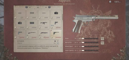 Featured image on Resident Evil Village How to Get the STAKE Magnum guide.