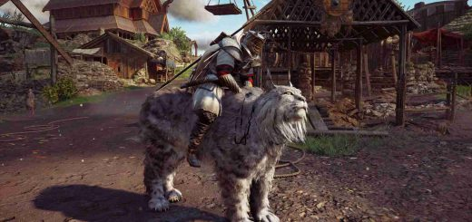 Featured image on Assassin's Creed Valhalla Lynx Mount Unlock Location Guide.