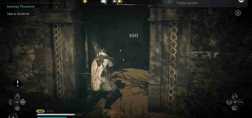 Featured image on Assassin's Creed Valhalla Wrath of the Druids Snake Location Guide.