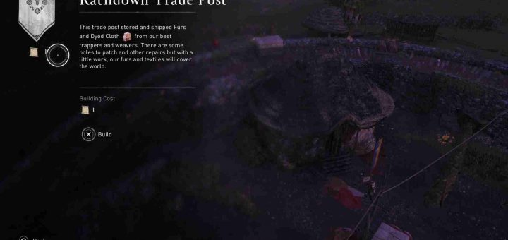 Featured image on Assassin's Creed Valhalla Rathdown Build Up Guide.