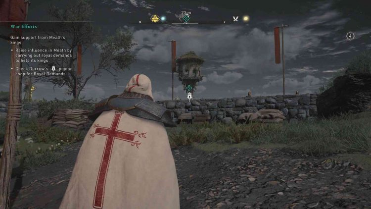 Image showing the Royal Demand pigeon coop in AC Valhalla.