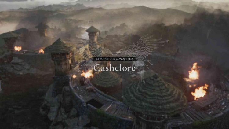 Image showing capturing the Stronghold in Cashelore.