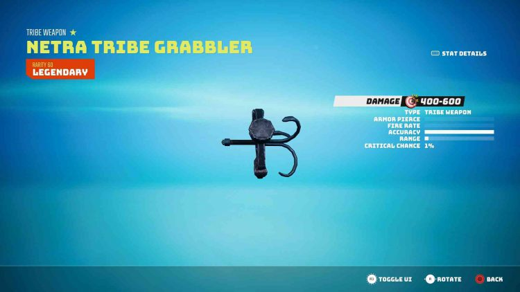 Image showing the Netra Tribe Grabbler in Biomutant.