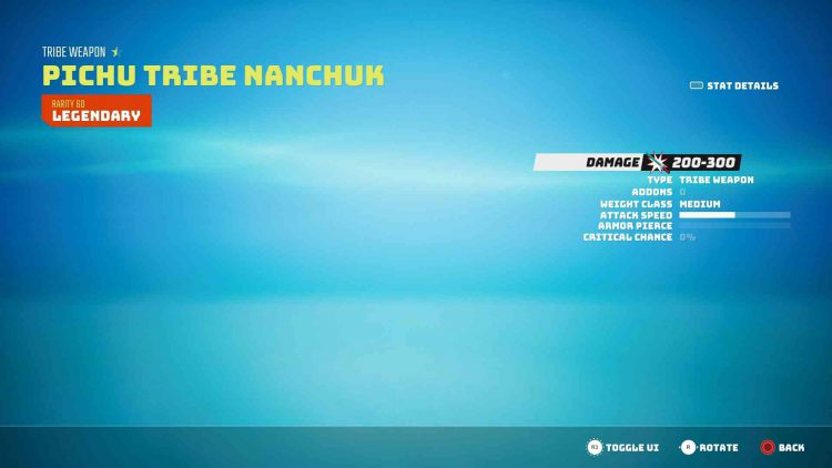 Image showing the Pichu Tribe Nanchuk in Biomutant.