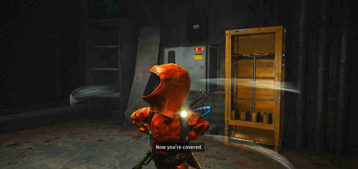 Featured image on Biomutant The Biohazard Suit Guide.
