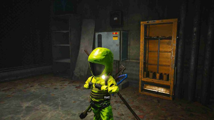 Image showing the anti-radiation suit in Biomutant.