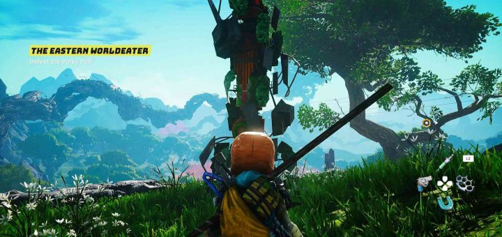 Featured image on Biomutant How to Get Crafting Resources Guide.