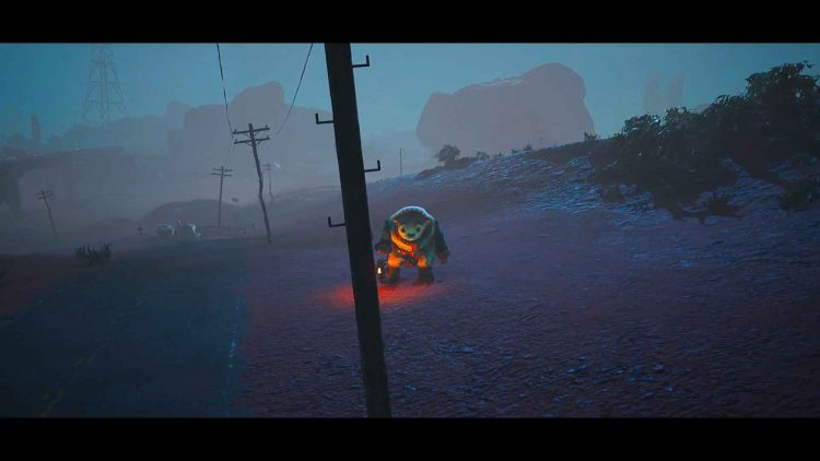 Image showing a side quest in Biomutant.