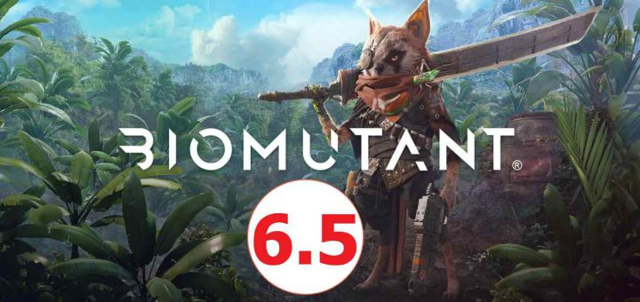 Featured image on Biomutant Review.