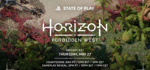 Featured image on Horizon Forbidden West State of Play rundown.